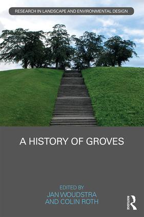 A History of Groves (Hardback) book cover